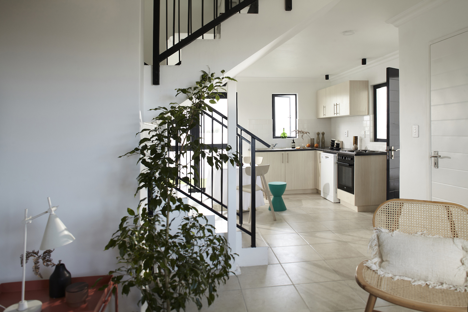 eHomes, double storey, kitchen, CITRA construction, sustainable construction cape town