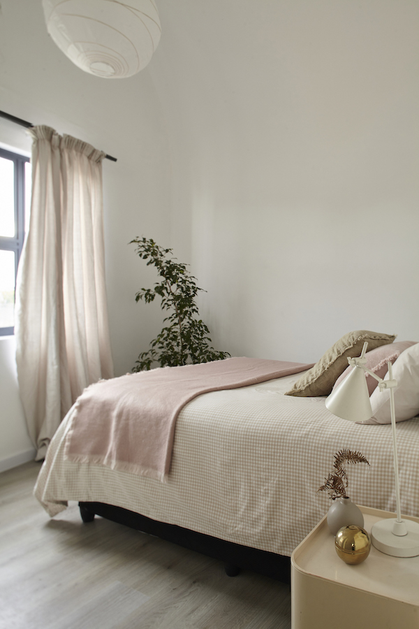 eHomes, double storey, master bedroom, CITRA construction, sustainable architecture cape town